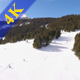 People Skiing Aerial View - VideoHive Item for Sale