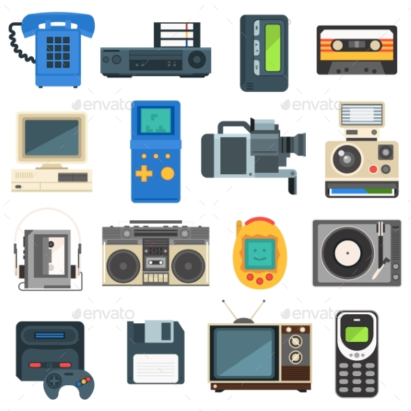 Vintage Technologies - Retro Technology