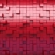 Red Extruded Cubes - VideoHive Item for Sale