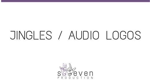 AUDIO LOGO (JINGLE)