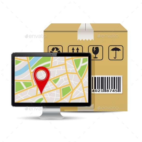 Shipping Parcel Tracking Order Design - Computers Technology