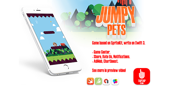 Jumpy Pets - CodeCanyon Item for Sale