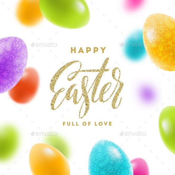 Easter Greeting Illustration - Miscellaneous Seasons/Holidays