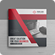 Creative Square Bi-Fold Brochure Template - GraphicRiver Item for Sale