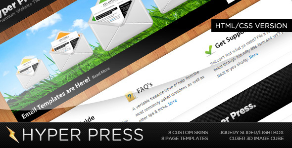 HyperPress – A Premium HTML Template