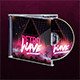 Retro Wave CD Cover Artwork - GraphicRiver Item for Sale