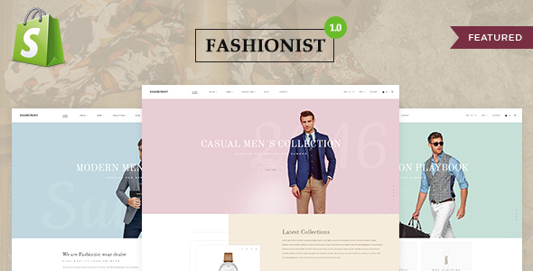 Image of Fashionist - Shopify Theme