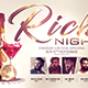 Rich Night Flyer Template - GraphicRiver Item for Sale