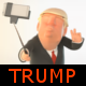 Selfie Logo with Trump Character - VideoHive Item for Sale