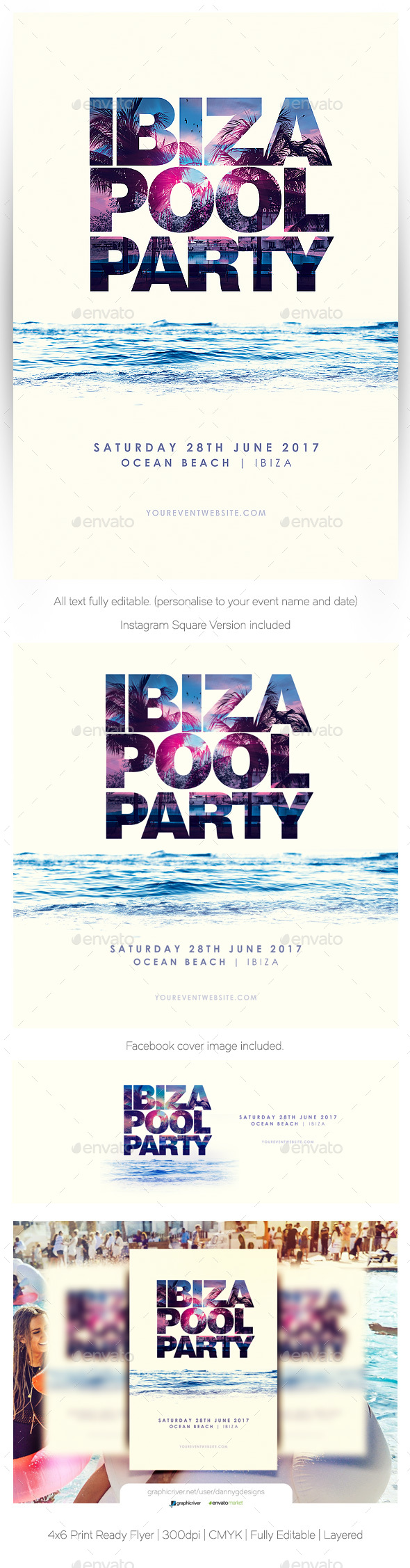 Ibiza Pool Party - Clubs & Parties Events