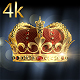 Golden Crown 4k - VideoHive Item for Sale
