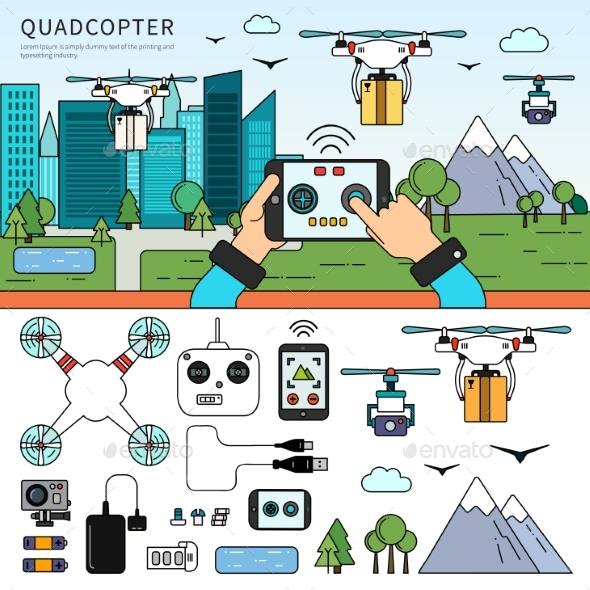 Quadcopters on the Street - Computers Technology