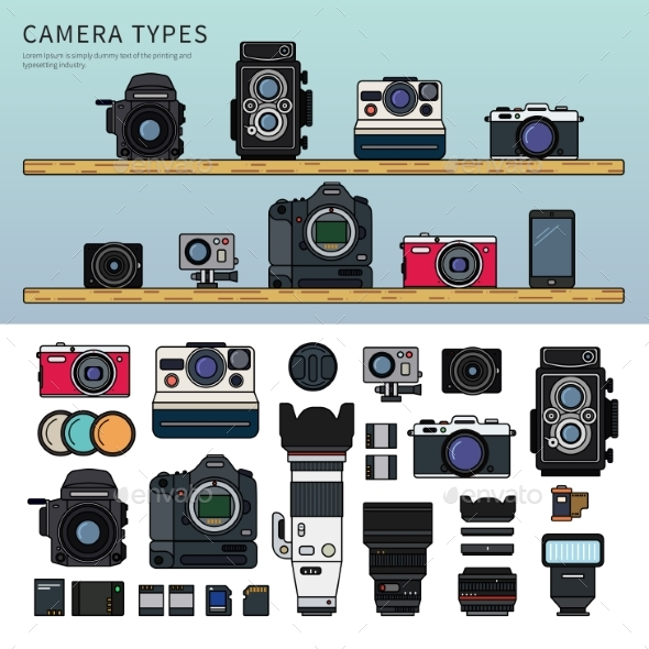 Different Types of Camera - Computers Technology