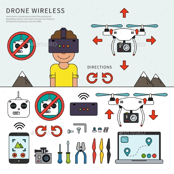 Wireless Drone Devices - Computers Technology