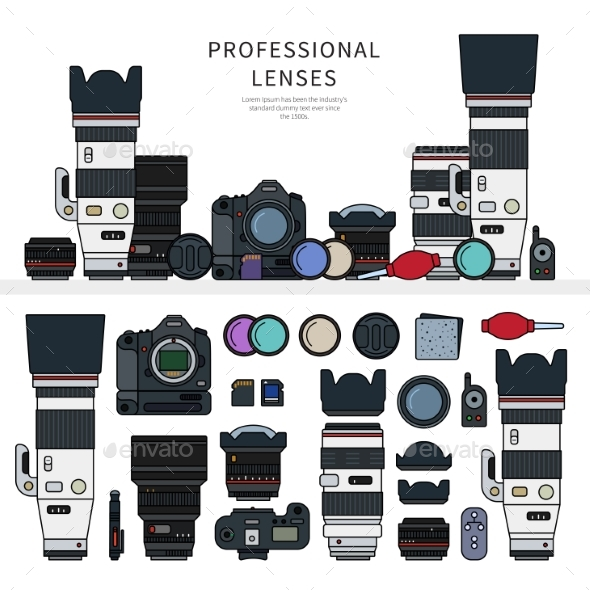 Professional Photo Cameras - Computers Technology