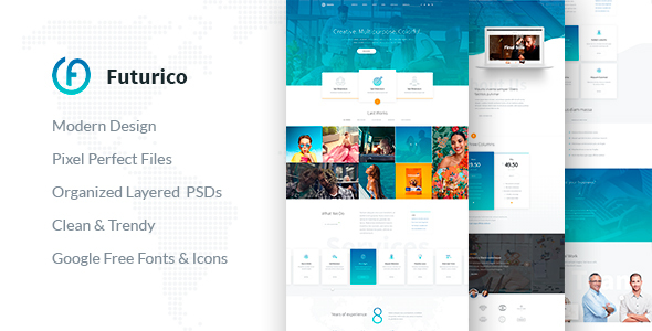 Futurico – Multipurpose WordPress Theme