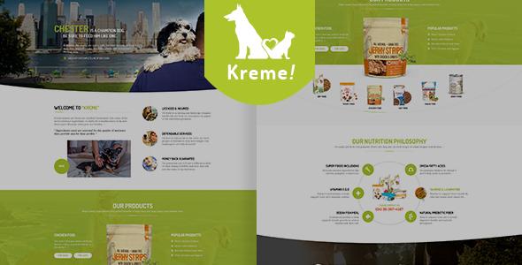 Kreme – Pet & Shop