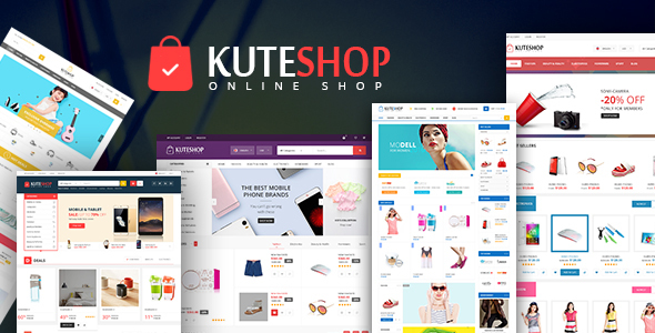Kute Shop –  Super Market WooComerce WordPress Theme