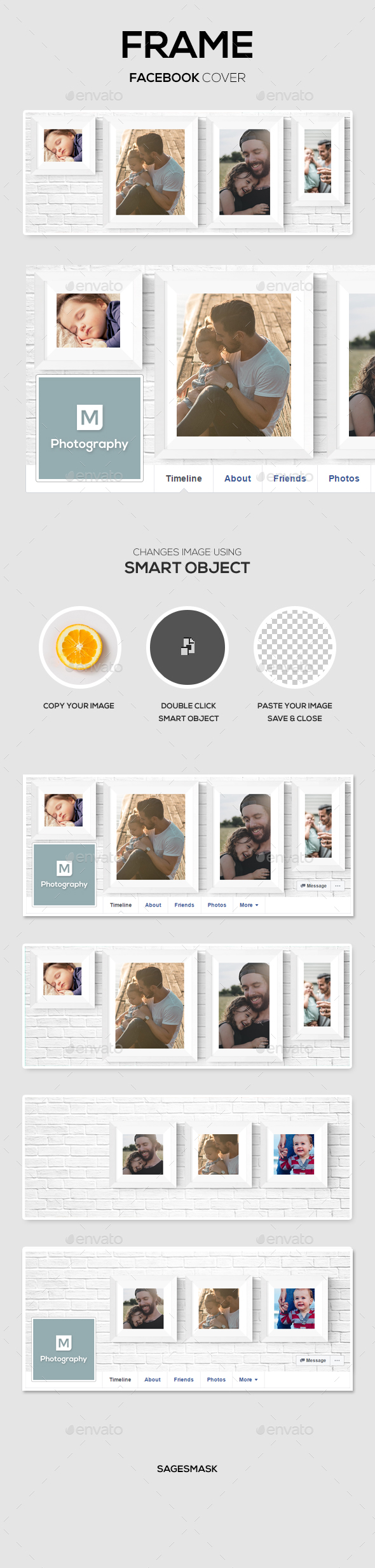 Frame Facebook Cover - Facebook Timeline Covers Social Media
