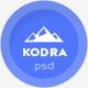 Kodra - Single Page PSD Template