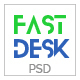 Fast Desk - Office, Food, Charity and Industry Psd Templates - ThemeForest Item for Sale
