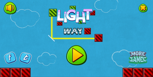 construct 2 logic game light way