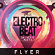 Space Electro Beat - Flyer Template - GraphicRiver Item for Sale