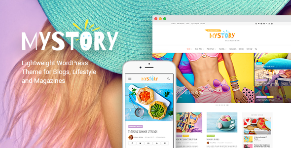 MyStory – Blog & Magazine WordPress Theme