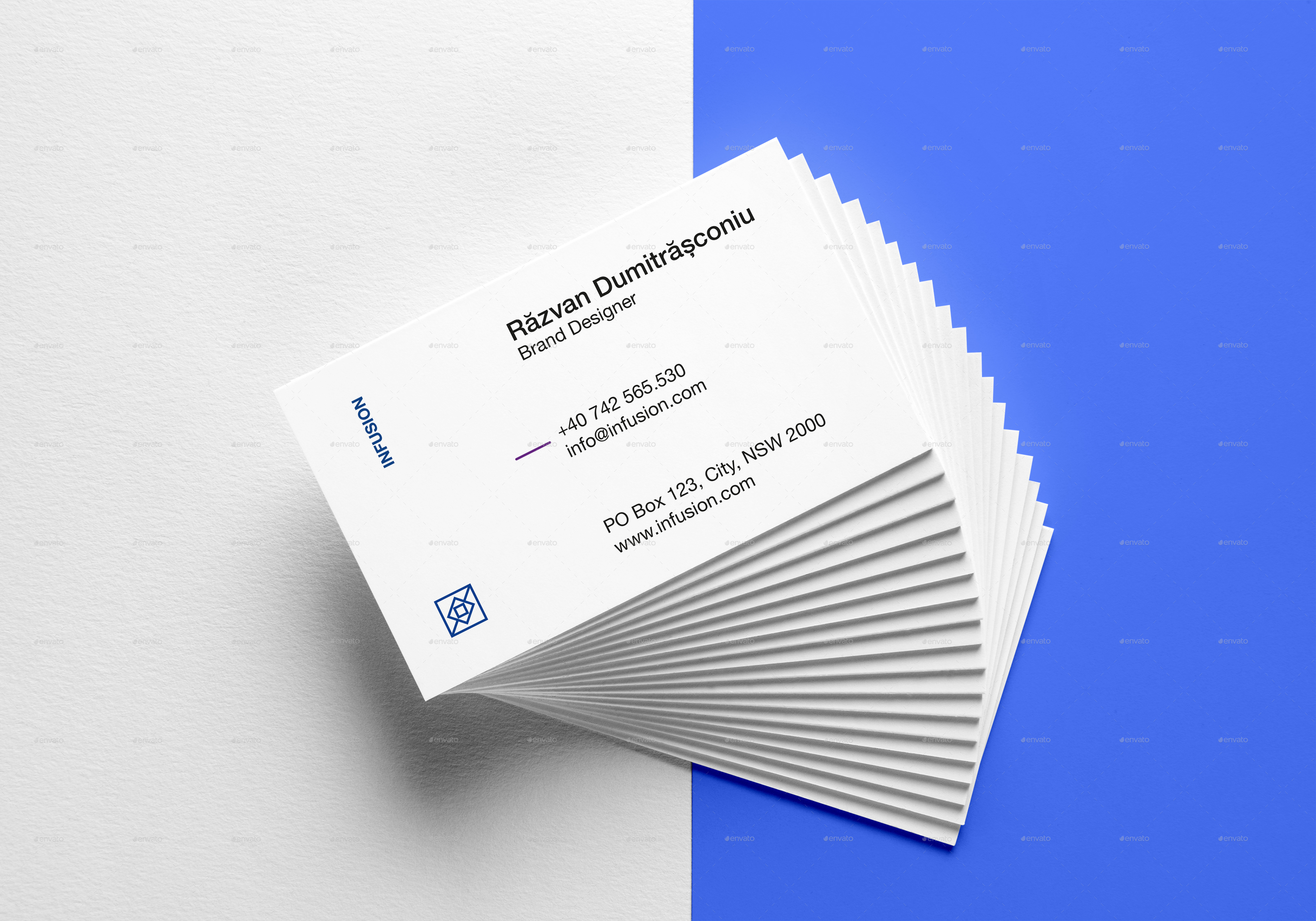 Clean & Modern Business Cards by Digital_infusion   GraphicRiver