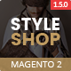 Styleshop - Responsive Multipurpose Magento 2.1.x Theme Nulled