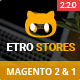 Etrostore - Multipurpose Responsive Magento 2 and 1 Theme Nulled
