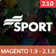 SM Sport - Responsive Magento 1.9 and Magento 2 Theme Nulled