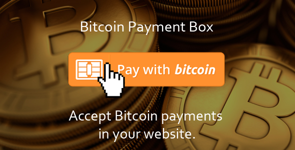 Bitcoin Payment Box - CodeCanyon Item for Sale