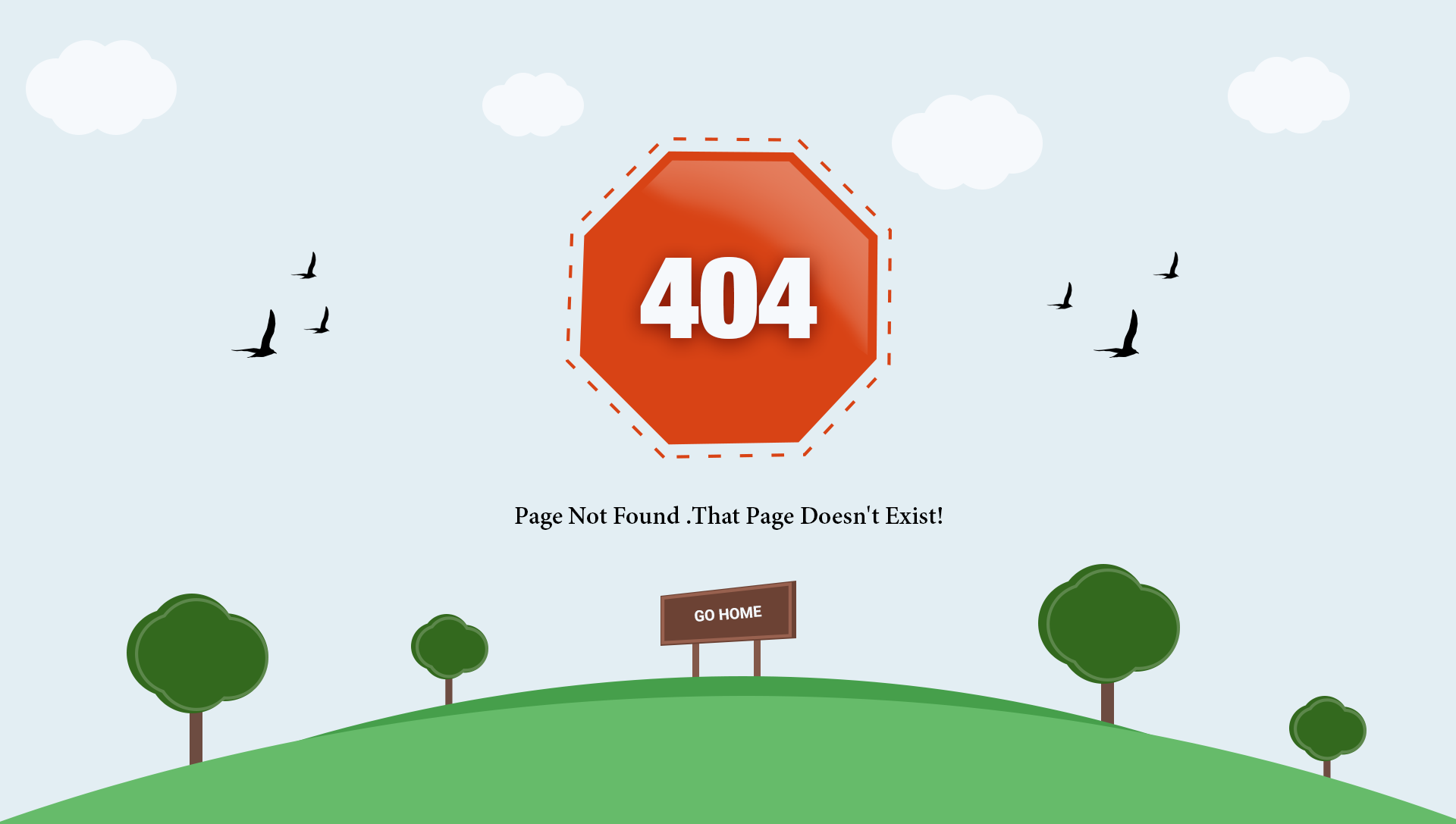 Awesome 404 Error HTML Template by PsdBosS | ThemeForest