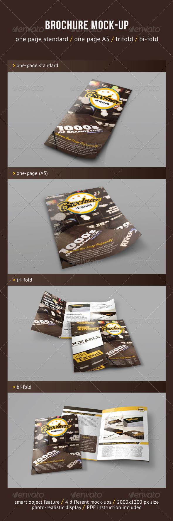 Brochure Mock-ups - Brochures Print