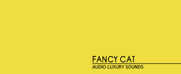 Fancy cat banner 4 gold