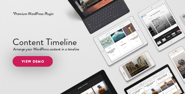 Content Timeline - Responsive WordPress Plugin for Displaying Posts/Categories in a Sliding Timeline - CodeCanyon Item for Sale