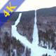 Ski Slopes Aerial View - VideoHive Item for Sale