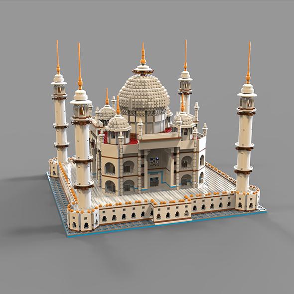 Lego Mechet - 3DOcean Item for Sale