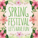 Spring Festival Flyer Template - GraphicRiver Item for Sale