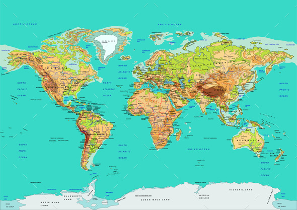 World Map Vector - Miscellaneous Vectors
