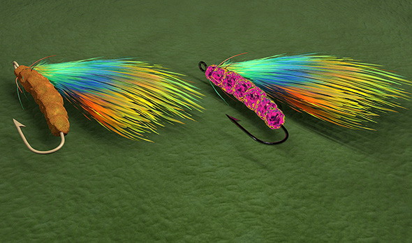 Fishing Fly - 3DOcean Item for Sale