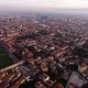Aerial Shot, Piazza Dei Miracoli in Pisa City in Tuscany, Italy, Filmed with Drone - VideoHive Item for Sale