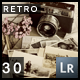 30 PRO Retro Lightroom Presets - GraphicRiver Item for Sale