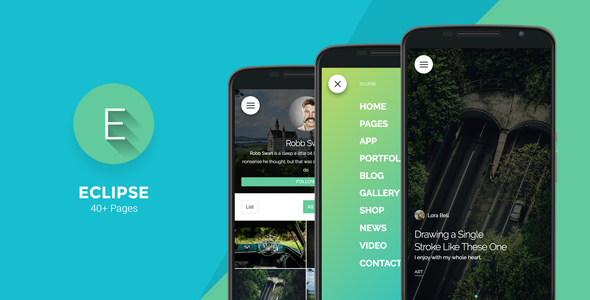 Eclipse – Mobile Multi-Purpose WordPress Theme