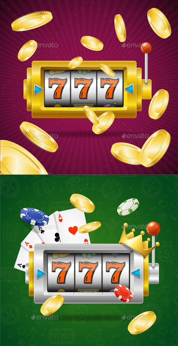 Casino Concept Slot Machine - Miscellaneous Vectors