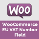 WooCommerce Eu Vat Field - CodeCanyon Item for Sale
