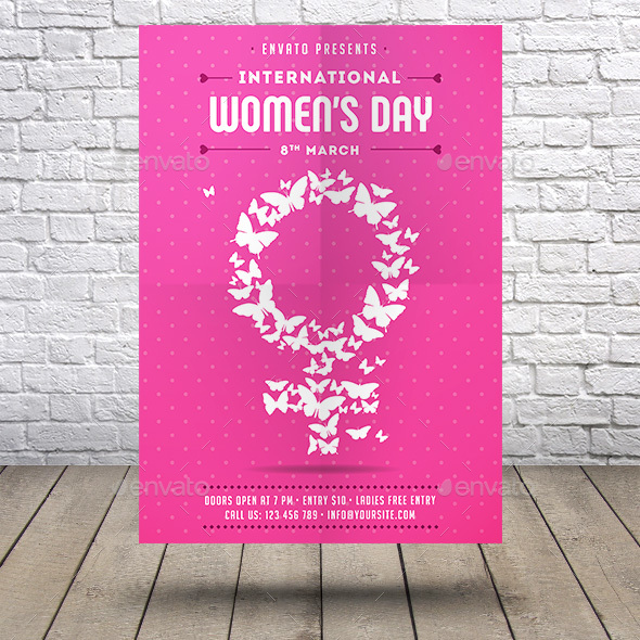 International Women's Day Flyer - Clubs & Parties Events