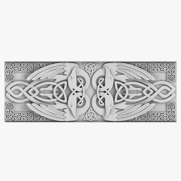 Celtic Ornament 01 - 3DOcean Item for Sale