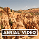Aerial Video of Red Canyon Utah
